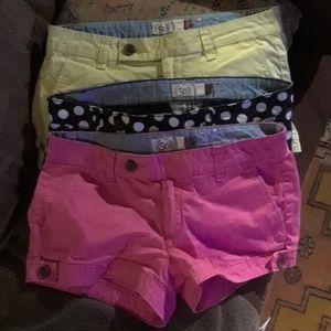 3 pair shorts sz5 by So